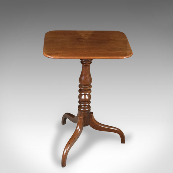 Antique Tilt Top Wine Table, Mahogany, English, Georgian, Early 19th Century