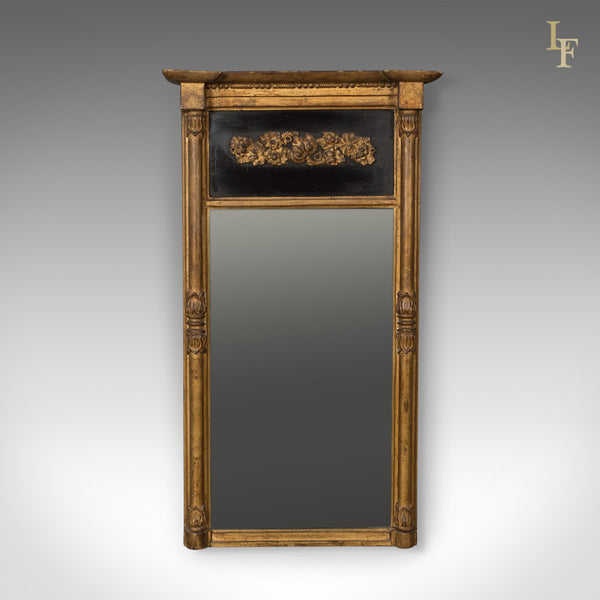 Regency Antique Pier Mirror in Giltwood & Gesso, Early 19th Century c.1820 - London Fine Antiques