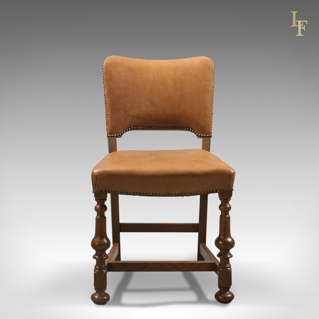 Set of 6 Antique Dining Chairs Oak amp Leather English  : Setof6AntiqueDiningChairsOakLeatherEnglishEdwardian FrontView LFA1570 141024x1024 from www.ebay.co.uk size 1024 x 1024 jpeg 84kB