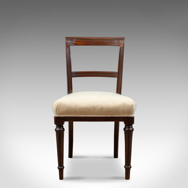 Set of Six Antique Dining Chairs, English, Victorian, Mahogany, Shoolbred, c1840 - London Fine Antiques