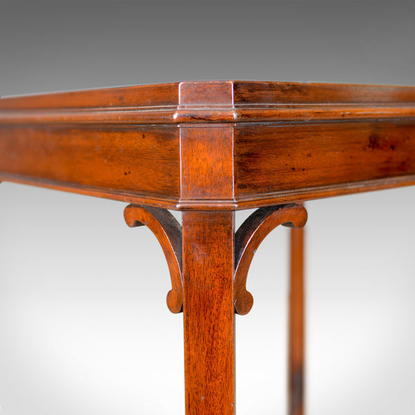 Side Table in the Georgian Taste, Arthur Brett and Sons, English, Mahogany C21st - London Fine Antiques