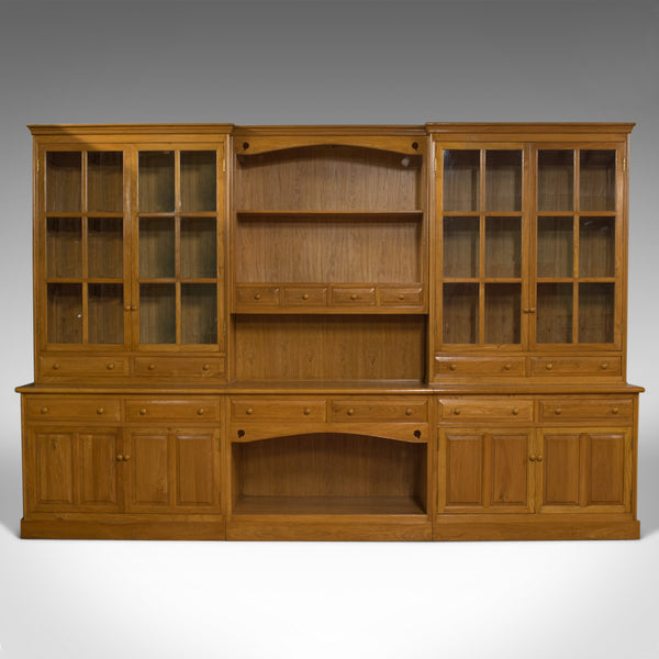 Very Large, Vintage Dresser, Victorian Taste, Ash, Kitchen Cabinet 20th Century - London Fine Antiques