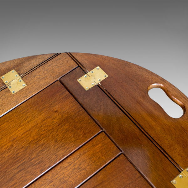 Vintage Butler's Tray Table, English, Mahogany, Coffee, Late 20th Century - London Fine Antiques
