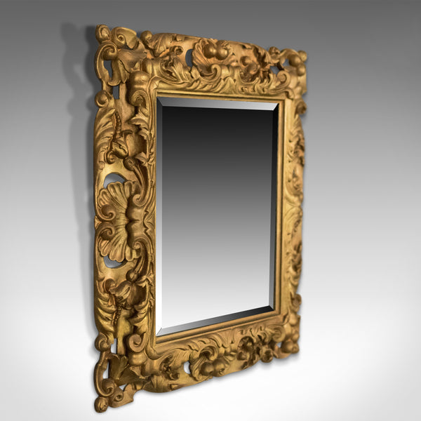 Vintage Giltwood Wall Mirror, Classical Taste, Latter Part of 20th Century - London Fine Antiques