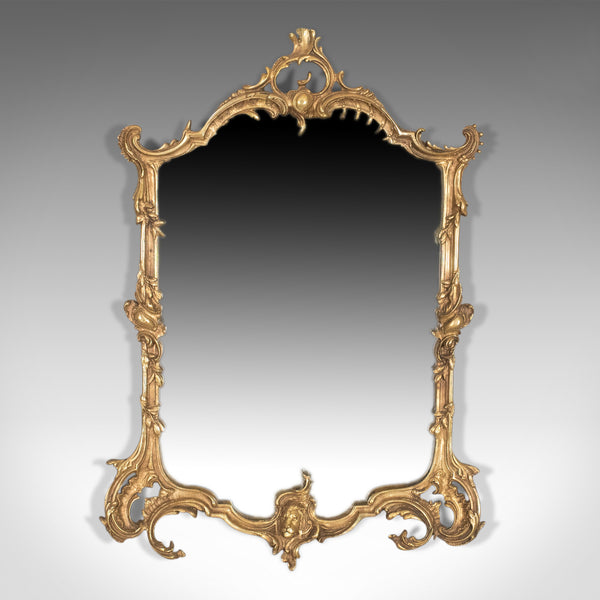 Vintage Wall Mirror in Rococo Revival Manner, English, 20th Century - London Fine Antiques