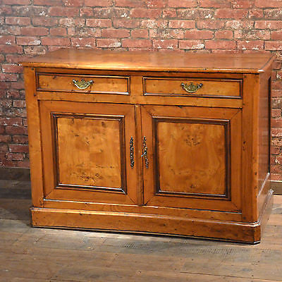Antique Sideboard Continental Elm Buffet Country Cupboard Cabinet C19th c.1800 - London Fine Antiques