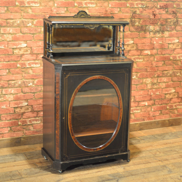 c.1880, Aesthetic Period Display Cabinet - London Fine Antiques - 2