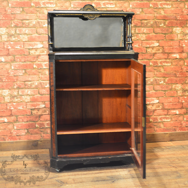 c.1880, Aesthetic Period Display Cabinet - London Fine Antiques