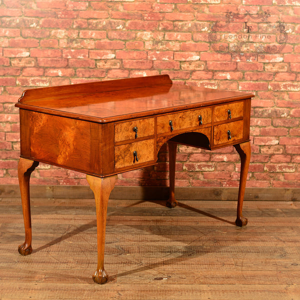 Art Deco Walnut Writing Table, c.1930 - London Fine Antiques