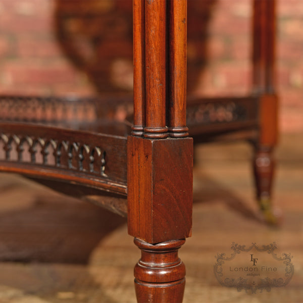 Edwardian Mahogany Centre Table, c.1910 - London Fine Antiques
