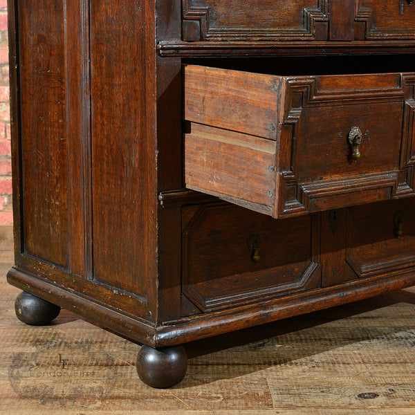 William & Mary Chest of Drawers, c.1690 - London Fine Antiques - 4