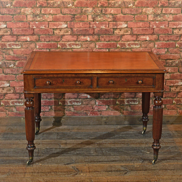 William IV Library Writing Table, c.1835 - London Fine Antiques - 5