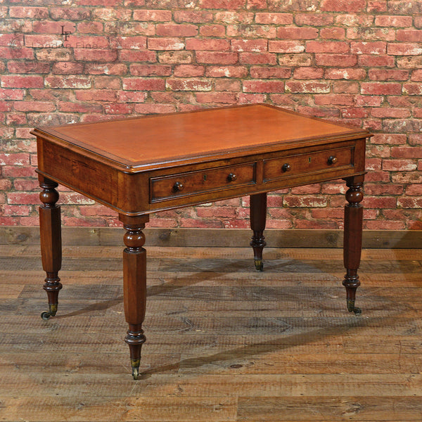 William IV Library Writing Table, c.1835 - London Fine Antiques - 1