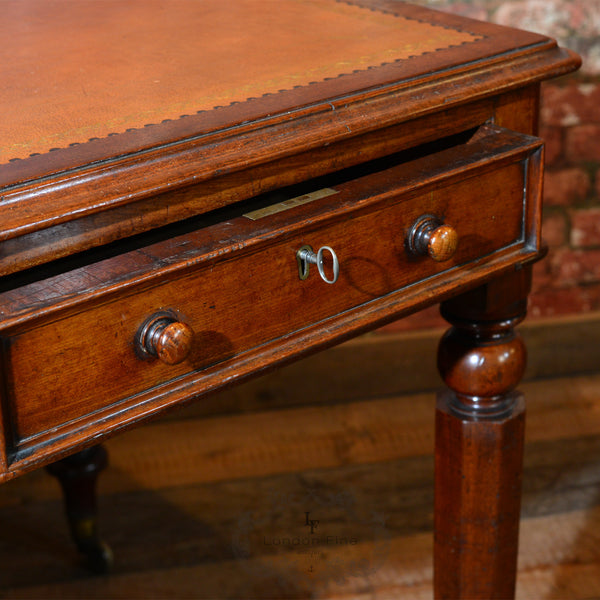William IV Library Writing Table, c.1835 - London Fine Antiques - 6