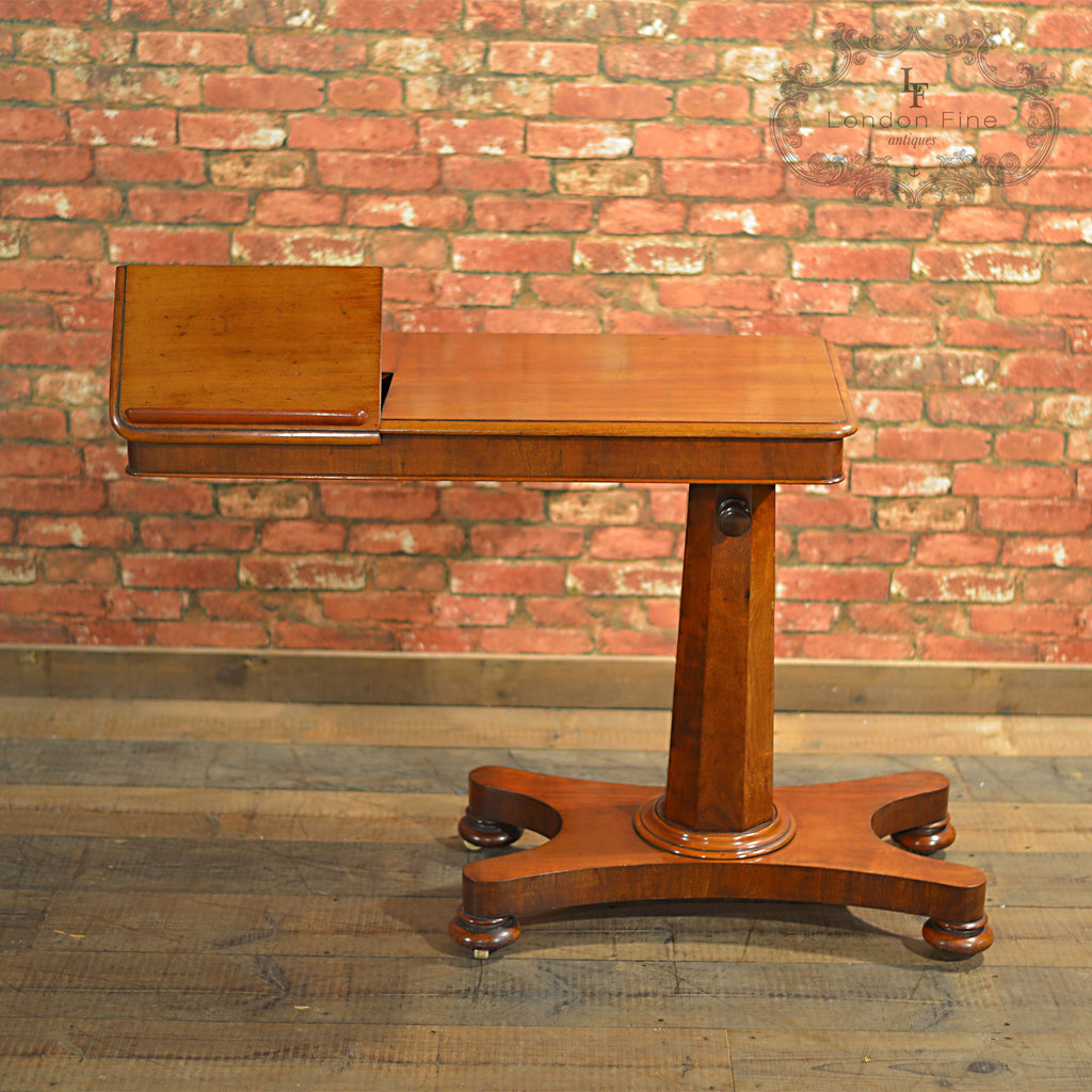 ... Victorian Adjustable Reading Table   London Fine Antiques ...