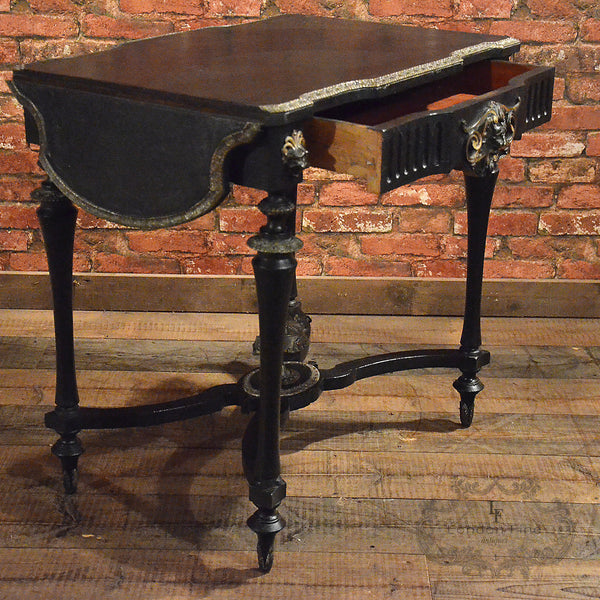 French Drop Flap Console Table - London Fine Antiques