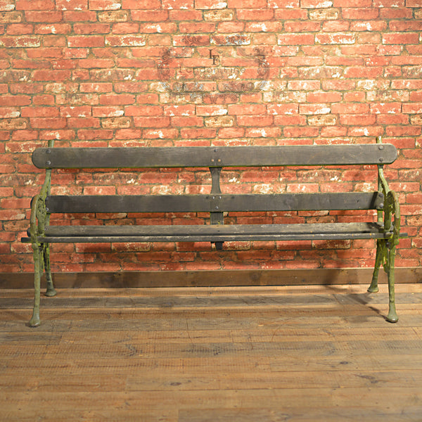 Victorian Garden Bench - London Fine Antiques - 5