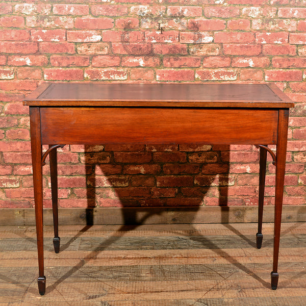 Victorian Leather Top Writing Table, c.1860 - London Fine Antiques - 6