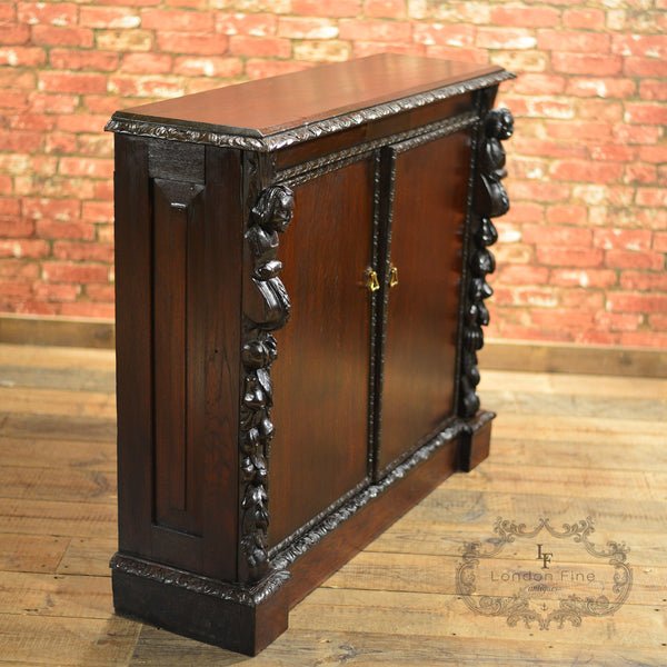 Victorian Library Bookcase - London Fine Antiques