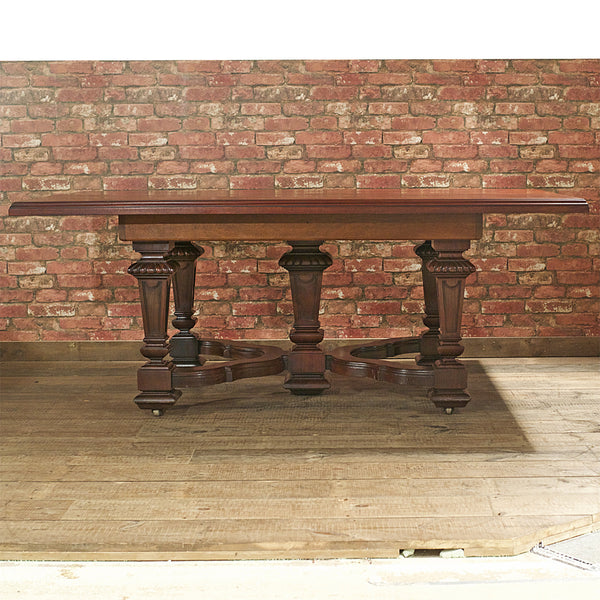 Victorian Mahogany Dining Table - London Fine Antiques - 2
