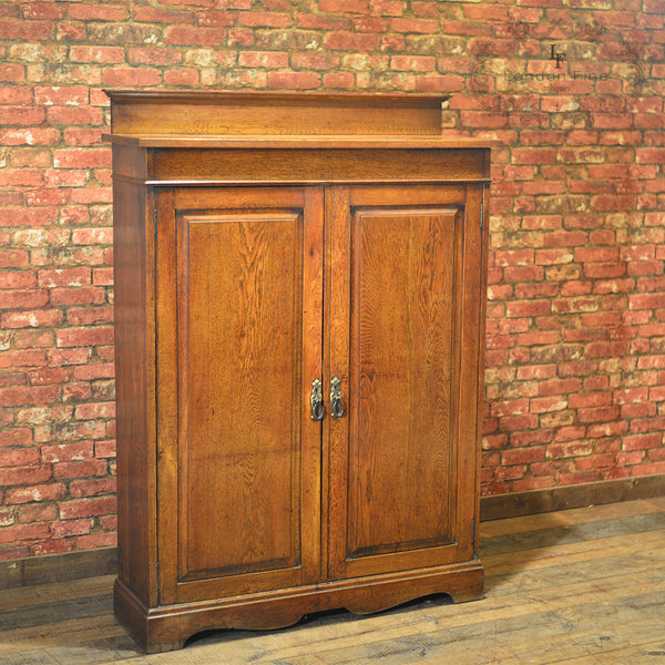 Edwardian School Masters Cupboard, c.1910 - London Fine Antiques