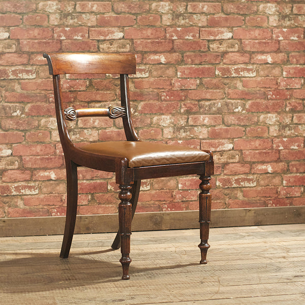 William IV Set of 6 Dining Chairs - London Fine Antiques - 2