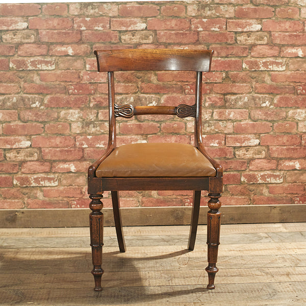 William IV Set of 6 Dining Chairs - London Fine Antiques - 3