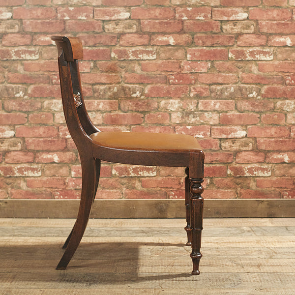William IV Set of 6 Dining Chairs - London Fine Antiques - 7