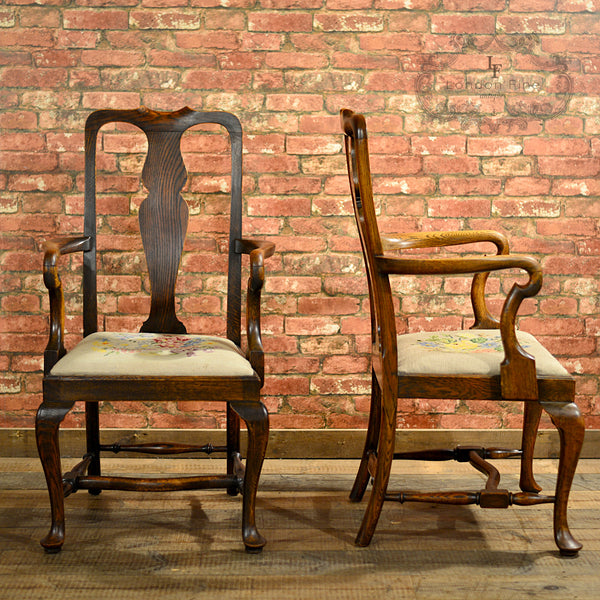 Victorian Set of Six Dining Chairs - London Fine Antiques - 2