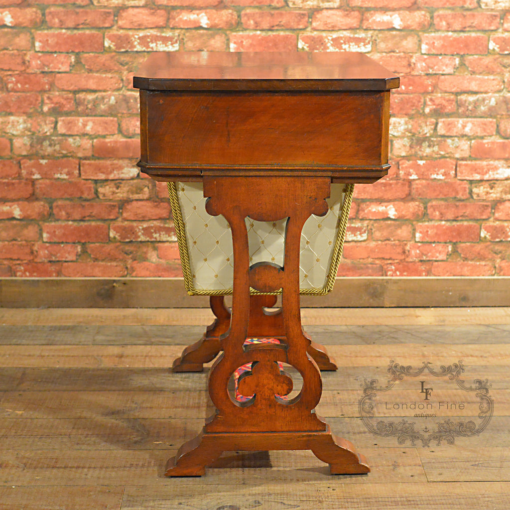 Victorian Sewing / Work Table - London Fine Antiques - 1