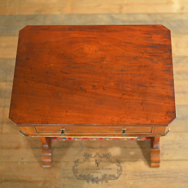 Victorian Sewing / Work Table - London Fine Antiques - 4