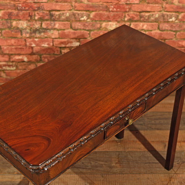 Georgian Mahogany Card Table, c.1800 - London Fine Antiques - 5