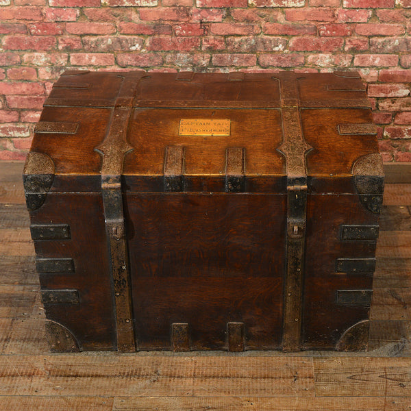 Victorian Campaign Silver Chest, c.1870 - London Fine Antiques - 4