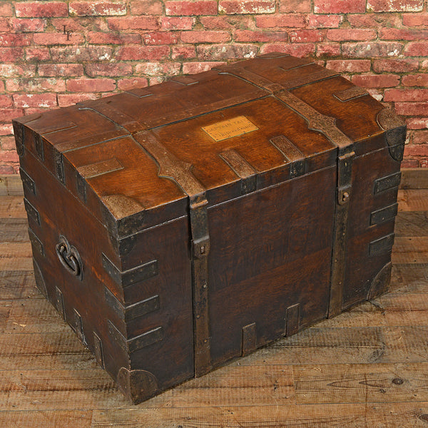Victorian Campaign Silver Chest, c.1870 - London Fine Antiques - 6