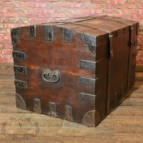 Victorian Campaign Silver Chest, c.1870 - London Fine Antiques - 8