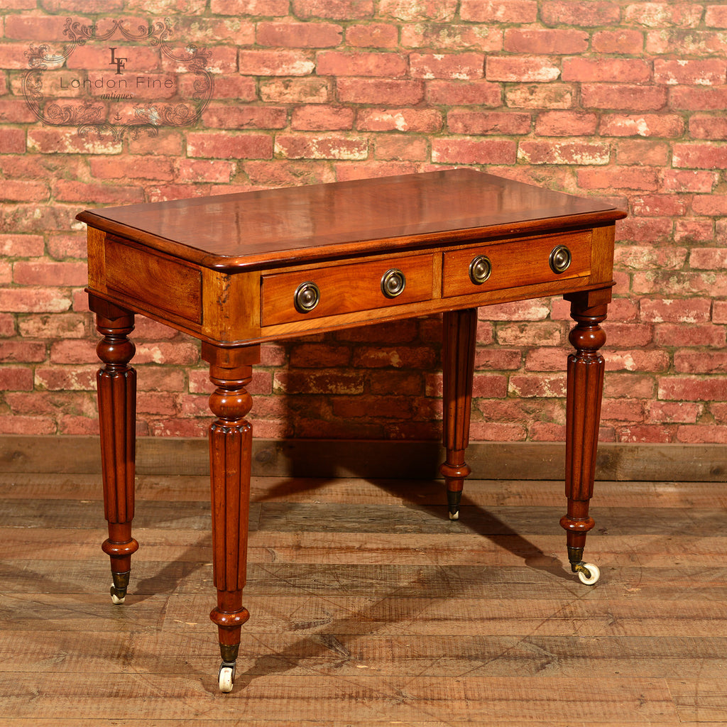 Regency Mahogany Writing Table, c.1830 - London Fine Antiques