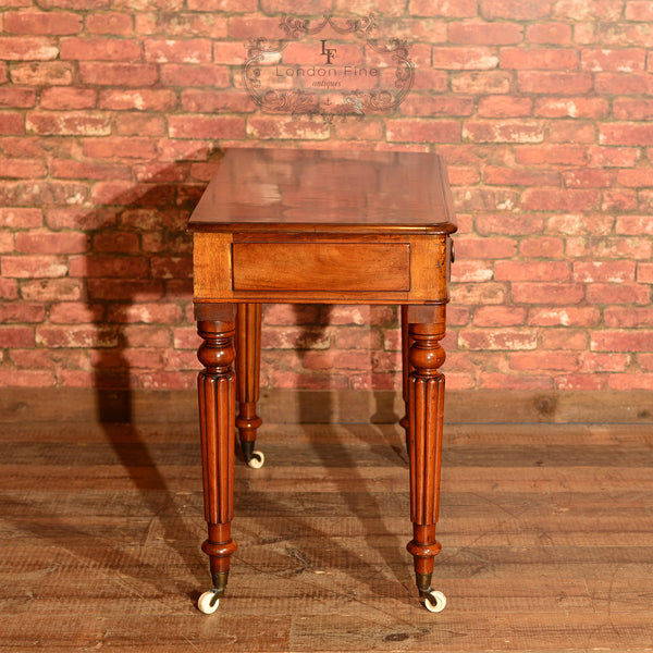 Regency Mahogany Writing Table, c.1830 - London Fine Antiques - 9