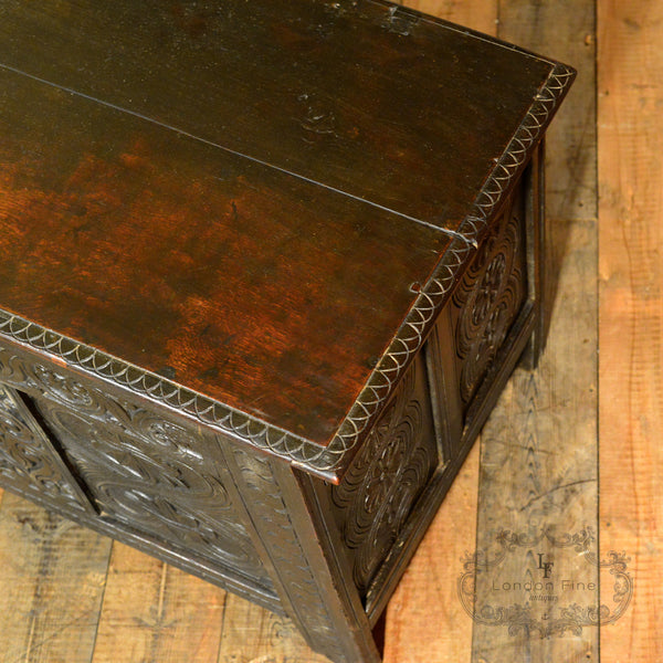 Charles II Coffer - London Fine Antiques - 7