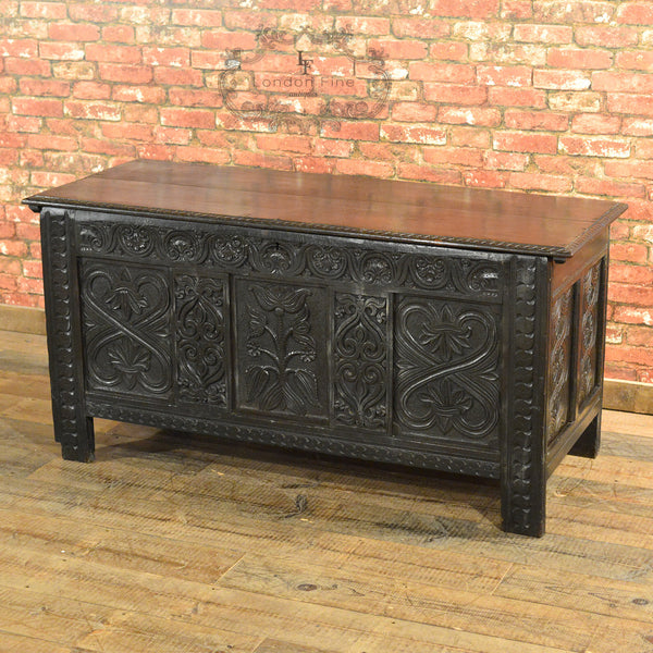 Charles II Coffer - London Fine Antiques