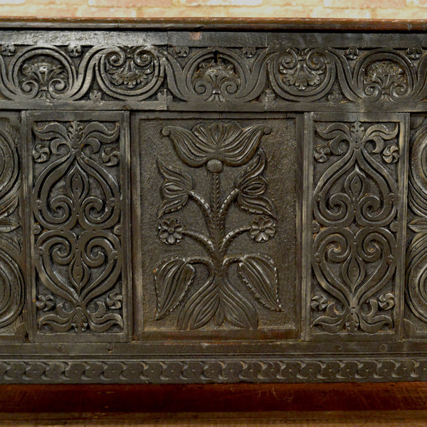 Charles II Coffer - London Fine Antiques - 5