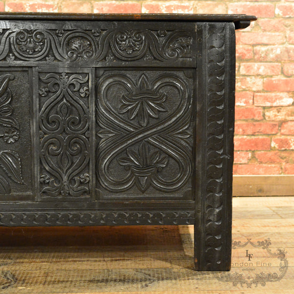 Charles II Coffer - London Fine Antiques - 6