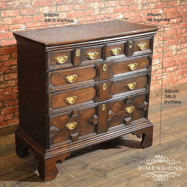 William & Mary Chest of Drawers, c.1690 - London Fine Antiques - 2