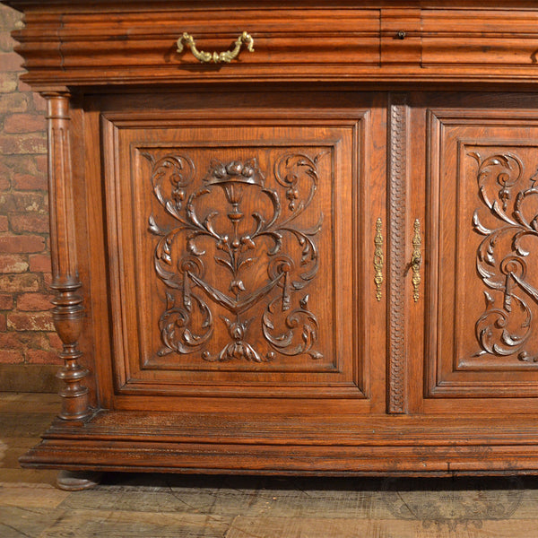 Antique Sideboard / Dresser - London Fine Antiques - 10