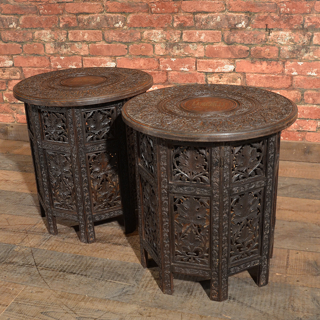 Victorian Campaign Side Tables - London Fine Antiques