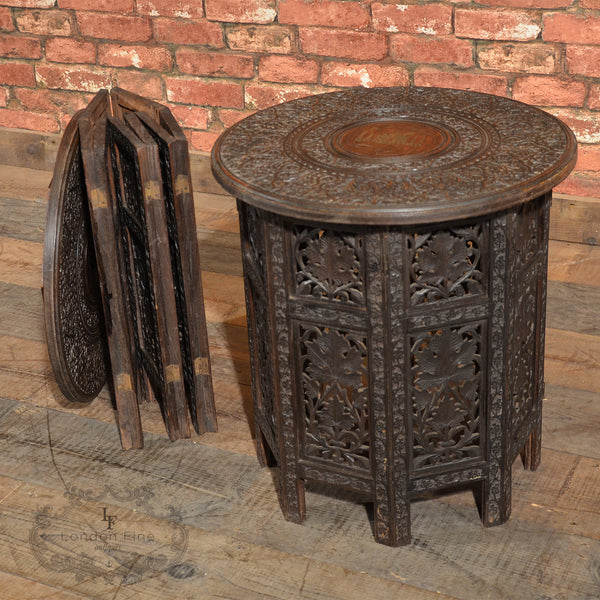 Victorian Campaign Side Tables - London Fine Antiques - 8