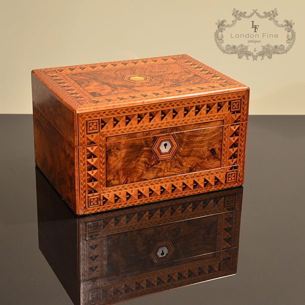 Victorian Lady's Dressing Box - London Fine Antiques - 1