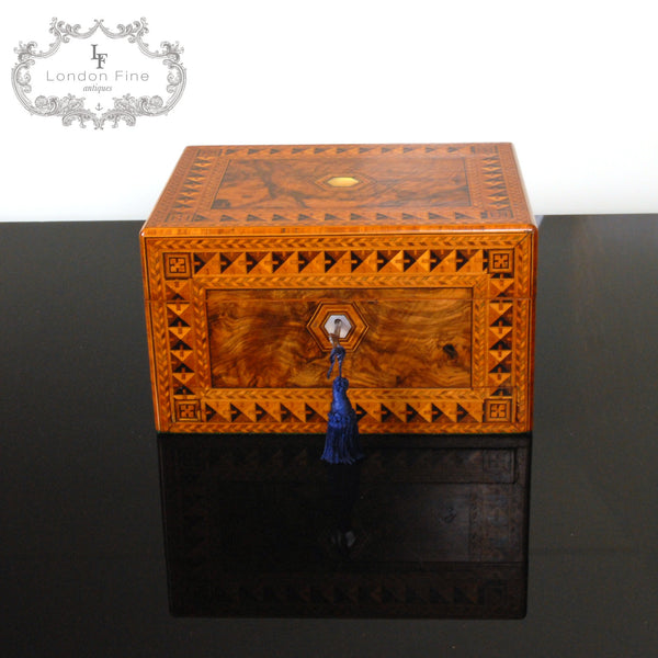 Victorian Lady's Dressing Box - London Fine Antiques - 6