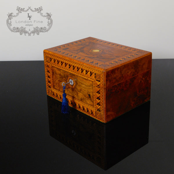 Victorian Lady's Dressing Box - London Fine Antiques - 7