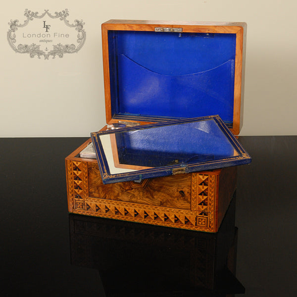 Victorian Lady's Dressing Box - London Fine Antiques - 9