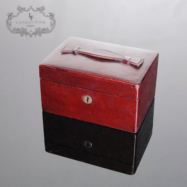 Vintage '30s Jewellery Box - London Fine Antiques - 7
